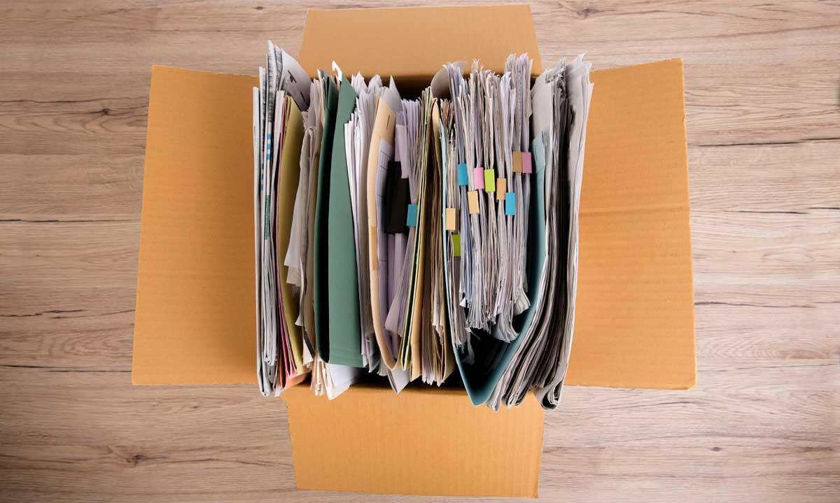 Box of documents